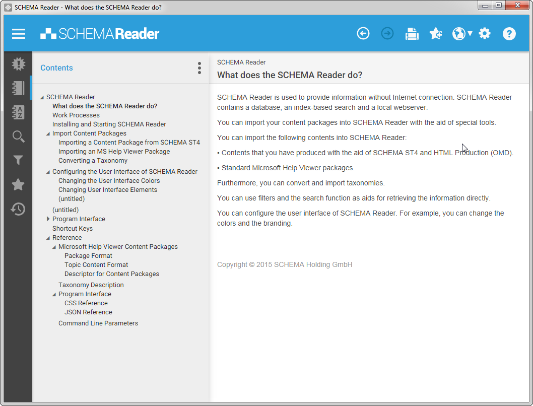 SCHEMA Reader 2015.2