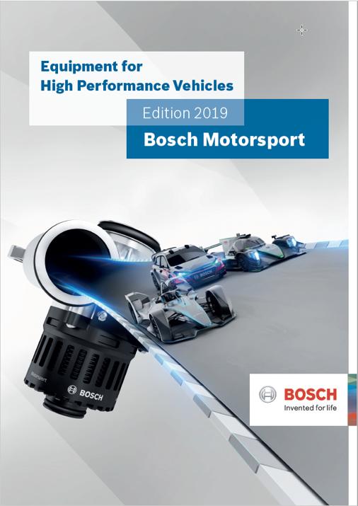 BOSCH Motorsport Produktkatalog