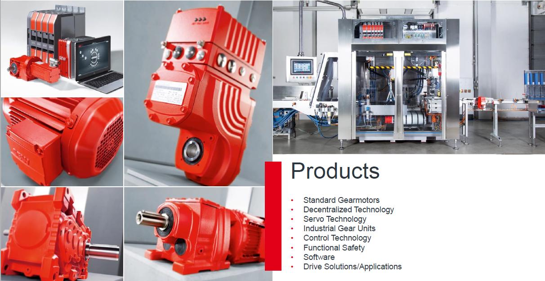 SEW Eurodrive Produkte